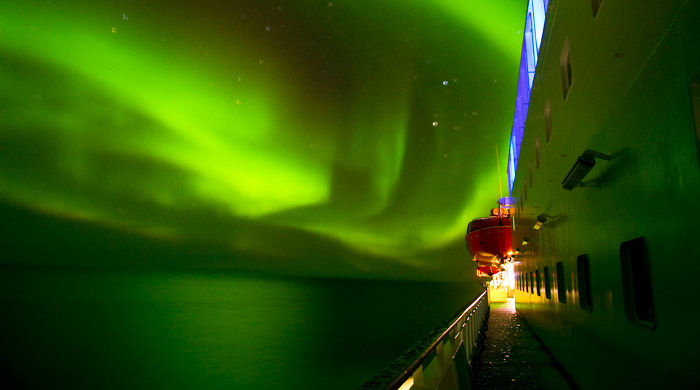 Northern Lights onboard