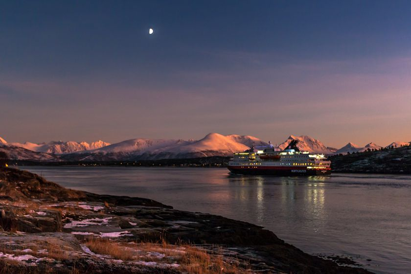 Winter cruising with Hurtigruten
