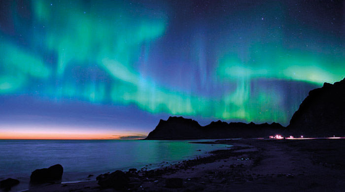Northern Lights on the Lofoten Islands, Norway