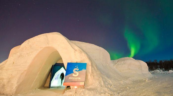 Classic kirkenes snowhotel break holidays 2016 2017 for Kirkenes snow hotel gamme cabins