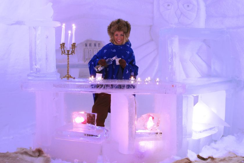 Ice Bar, Snowhotel, Kirkenes