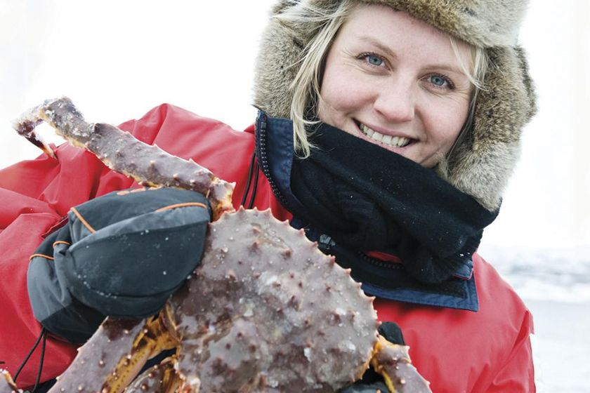 Fishing for king crabs, Kirkenes