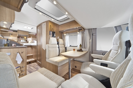 Motorhomes in scandinavia best served scandinavia for Interior motorhome designs