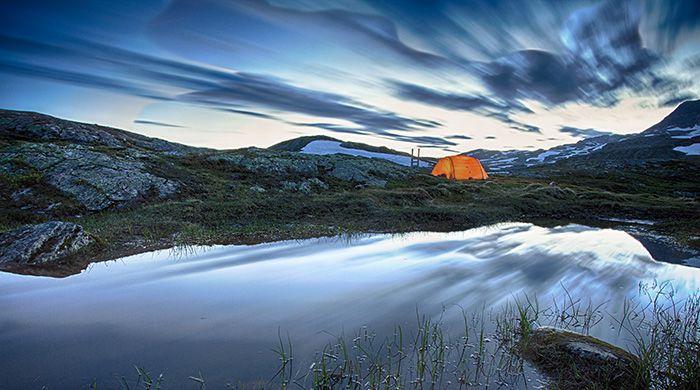 Hardangervidda mountains