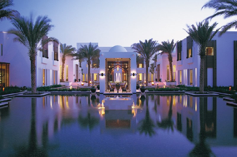 Courtyard at The Chedi