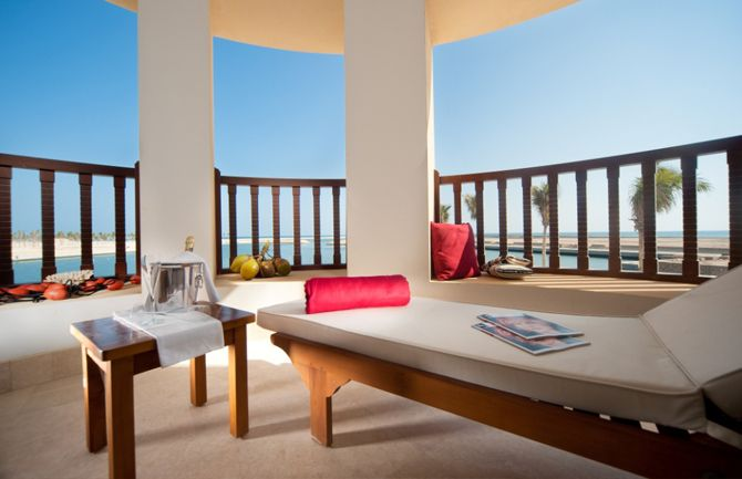 Marina Suite balcony