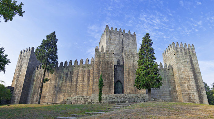 Guimaraes Castle, Portugal