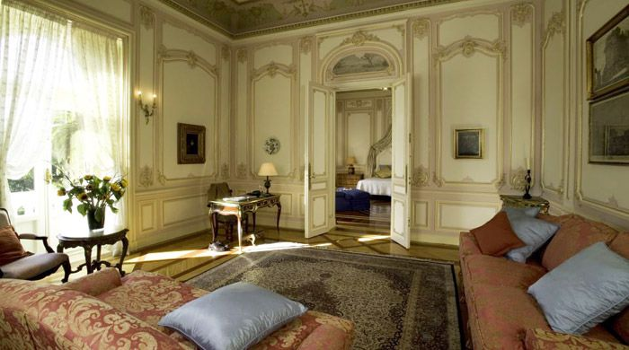 Guest suite, Pestana Palace, Lisbon, Portugal