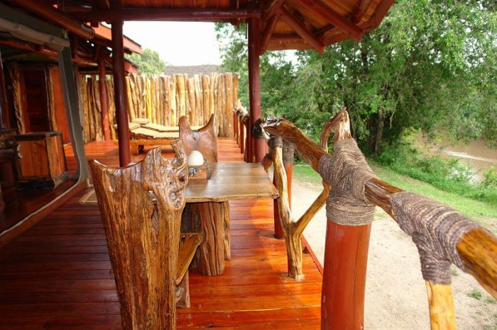 Royal Mara Safari Lodge, tented chalet