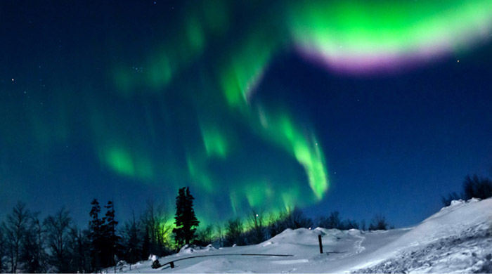 The Northern Lights, Russia