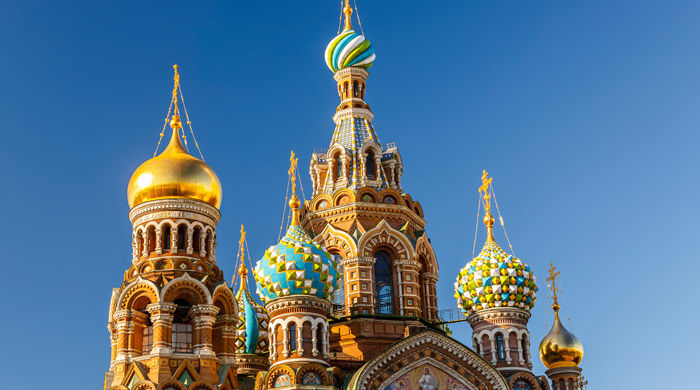 Church of Our Saviour on Spilled Blood, St Petersburg, Russia