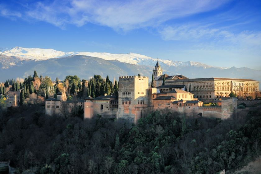 Alhambra, Andalucia, Spain