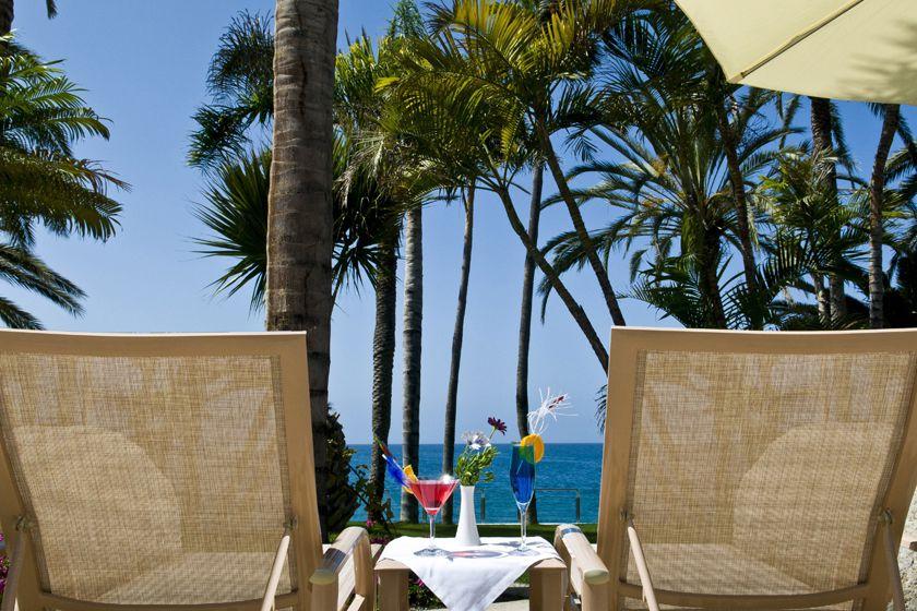 Terrace at Radisson Blu Resort, Grand Canaria