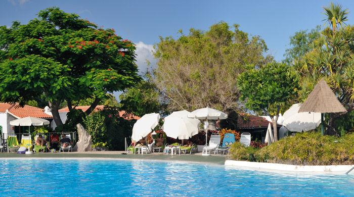 Pool at Hotel Jardin Tecina