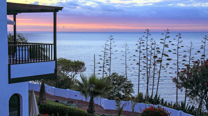 Ocean views from Hotel Jardin Tecina