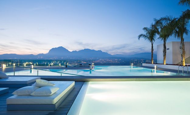 Deck and pool, SHA Wellness Clinic, Alicante, Spain