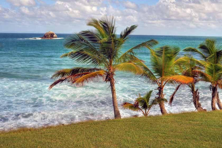 Pigeon Beach, St Lucia