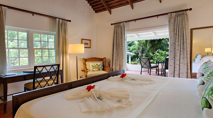 Deluxe room, East Winds Inn, St Lucia
