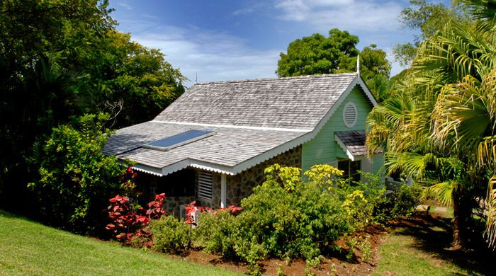 Deluxe room exterior, East Winds Inn, St Lucia