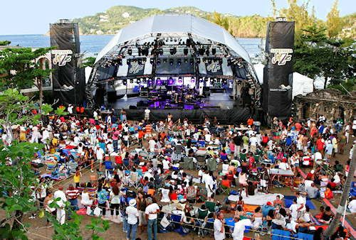 St Lucia Jazz Festival
