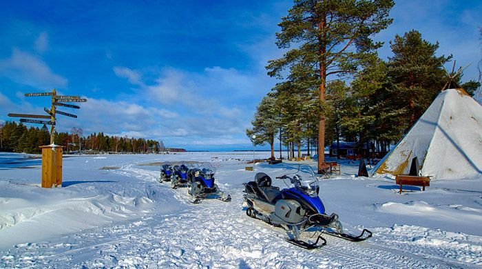 Winter adventure, Swedish Lapland
