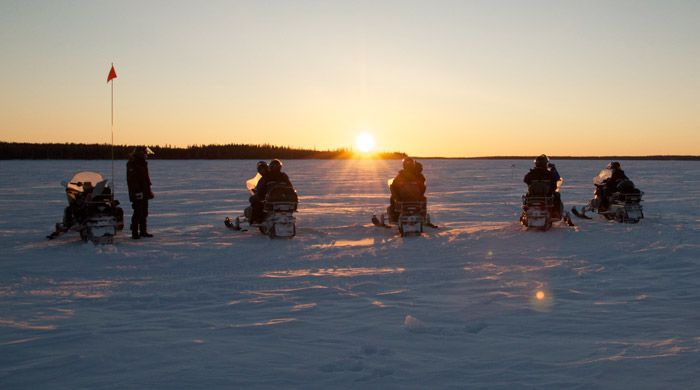 A Winter Break in Swedish Lapland