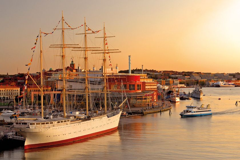 Gothenburg Harbour, Sweden