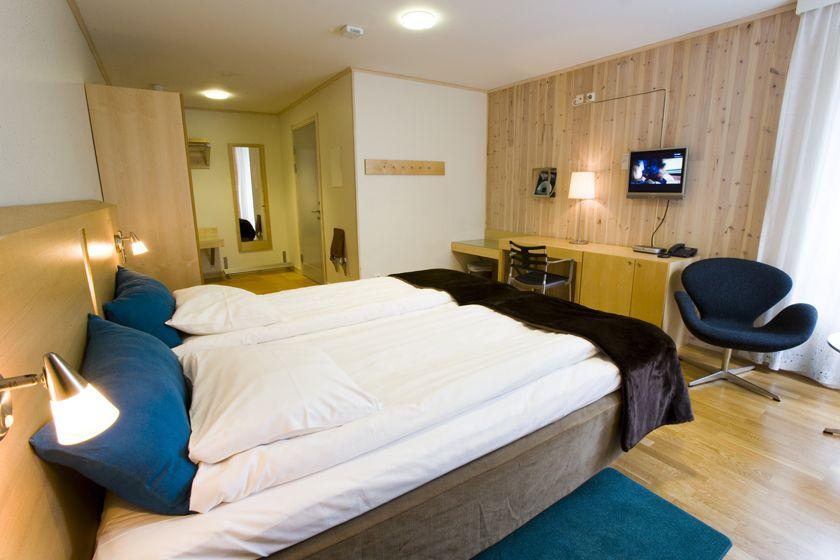 Kaamos Room, ICEHOTEL (Warm Room)