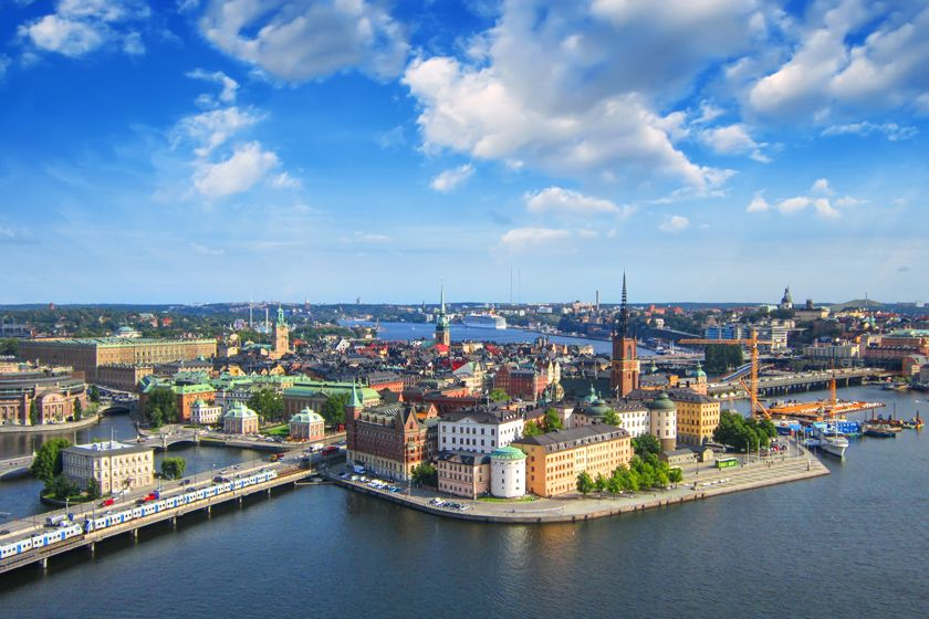 View of Stockholm, Sweden