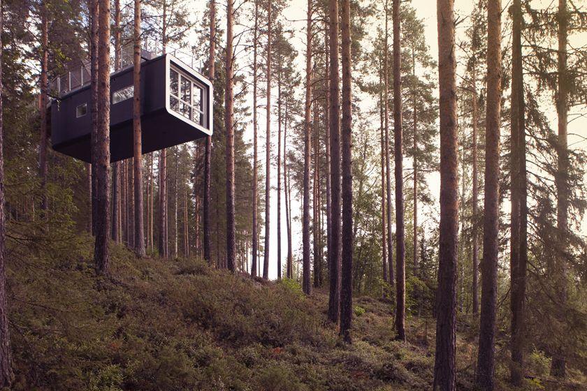 Cabin at Treehotel, Sweden