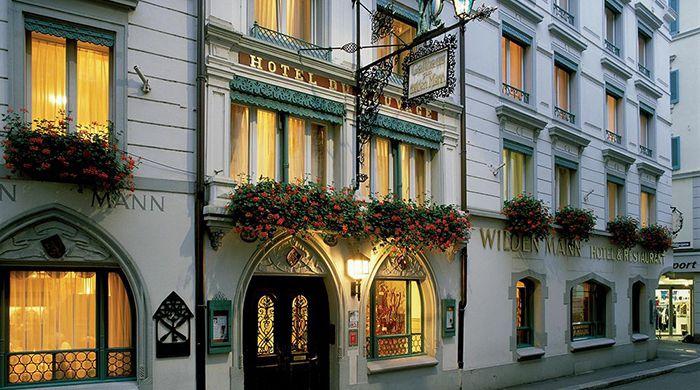 Romatik Hotel Wilden Mann, Lucerne
