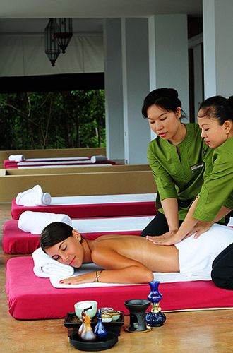 Full-body massage, Absolute Sanctuary Thailand