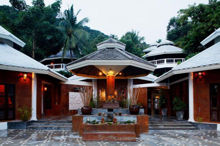 Centara Resort Koh Pha Ngan spa entrance