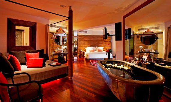 Indigo Pearl room