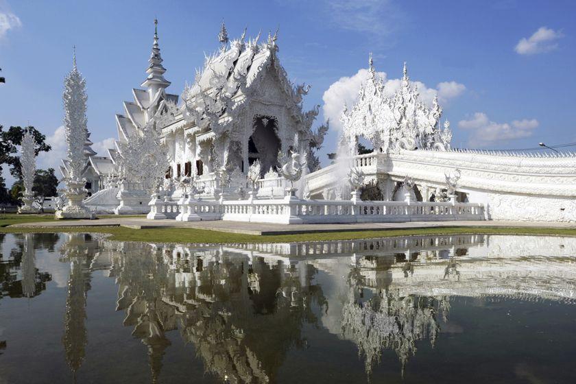 Wat Rong Kun, Chiang Mai, Thailand