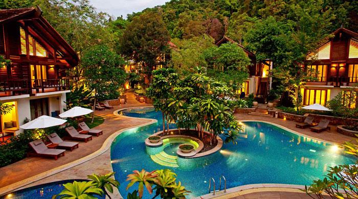 Pool at Tubkaak, Thailand