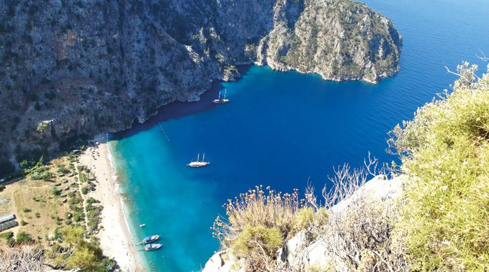 Butterfly Valley, Fethiya, Turkey