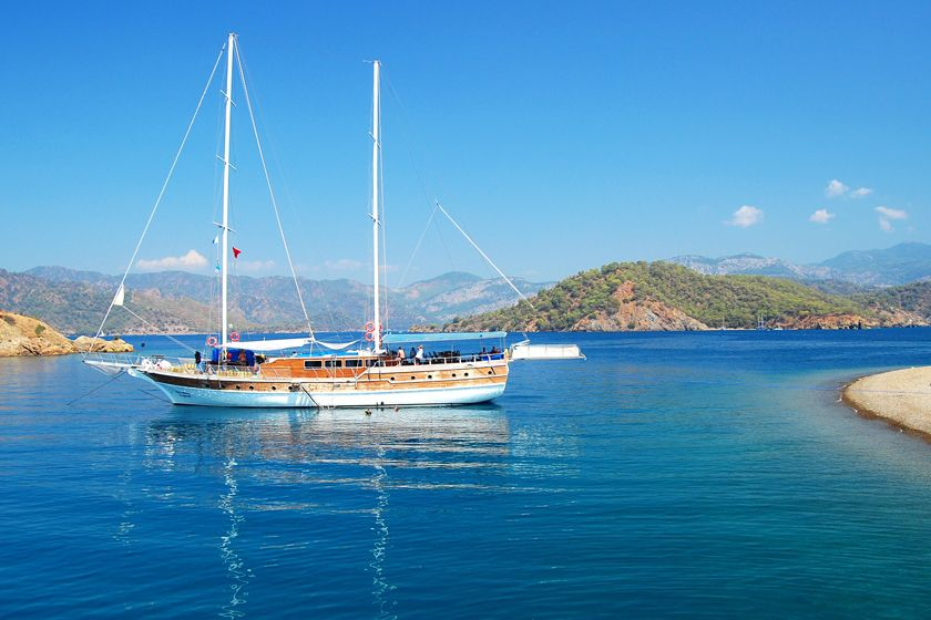 Gulet cruising, Turkey