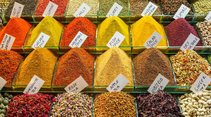 Istanbul's Spice Market, Turkey