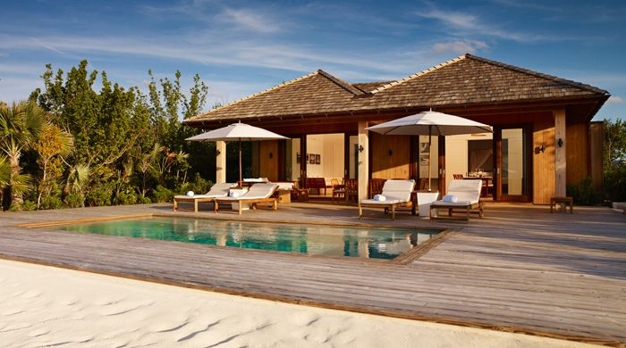 Two Bedroom Beach House at at Parrot Cay, Turks & Caicos