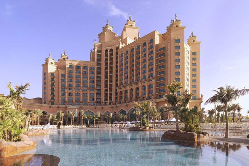 Main pool at Atlantis, The Palm
