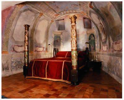 Dame Charrier de la Roches junior suite, Chateau de Bagnols