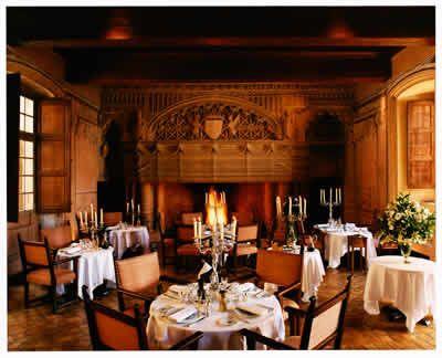 Salle des Gardes gastronomic restaurant, Chateau de Bagnols