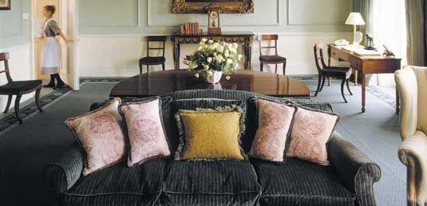 Royal Crescent bedroom