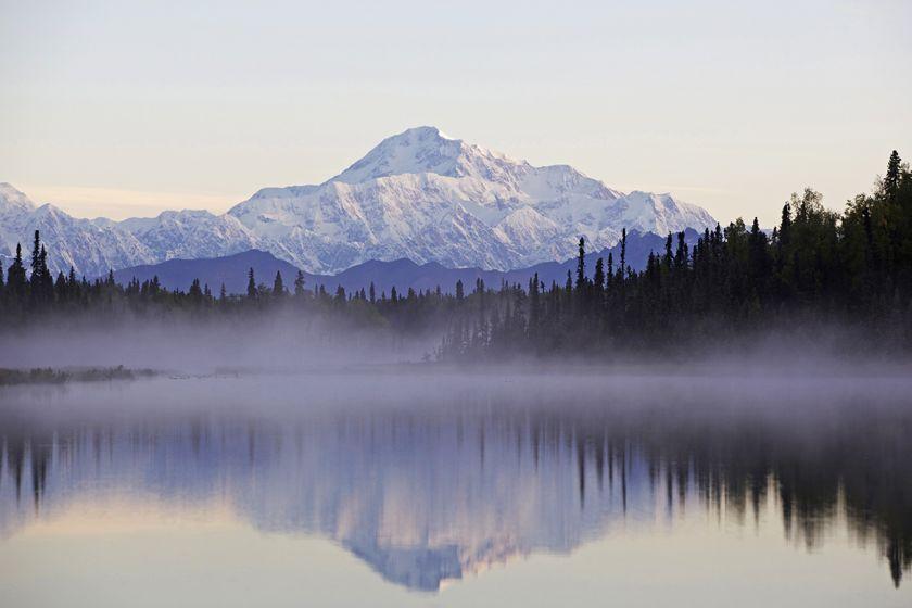 Mt Mckinley, Denali National Park, Alaska