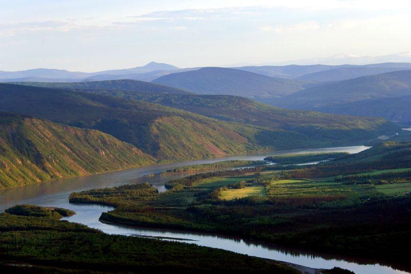 Nr Dawson City, Yukon, Canada