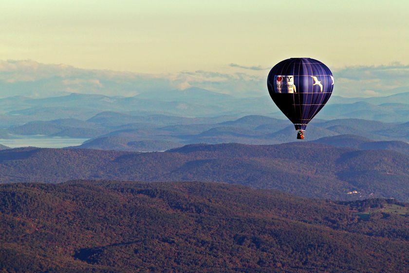Hot Air Balooning, New York State