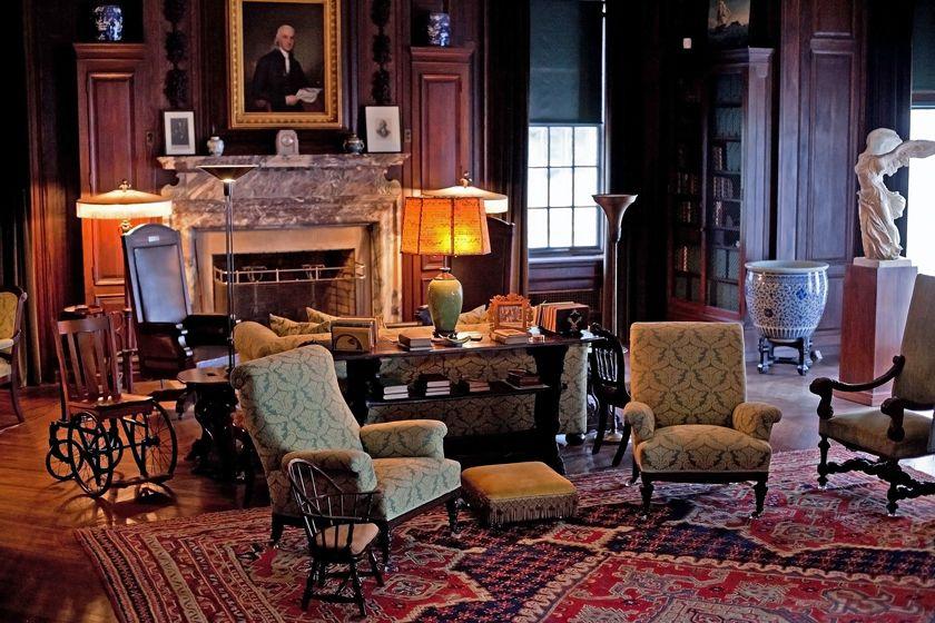 FDR's mansion - Hudson Valley NY