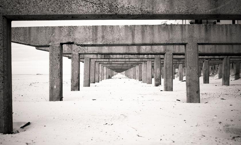 Long Beach boardwalk - New York State