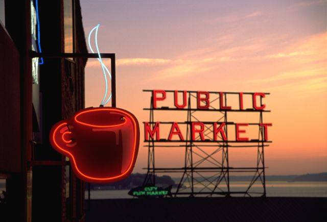 Pike Place Market Seattle, USA